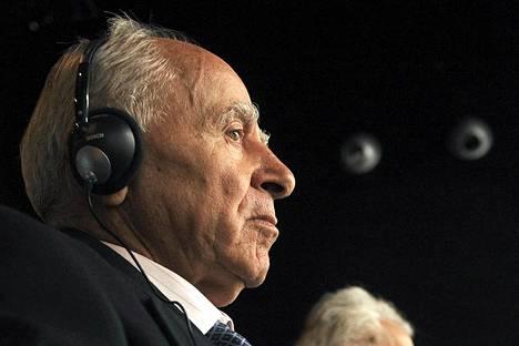 Öljytankkeri Prestigen entinen kapteeni Apostolos Mangouras lokakuussa 2012.