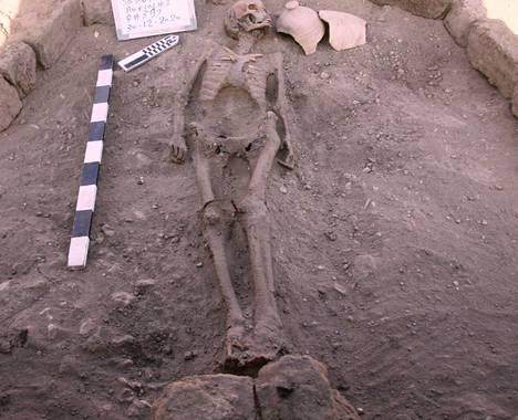 Luxorista löydettiin ihmisen jäänteitä.