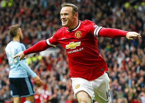 Wayne Rooney puhuu mestaruudesta.