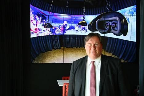Mikko Vanni sai idean Urheilukorttiin perustamastaan musiikkimuseo Famesta.