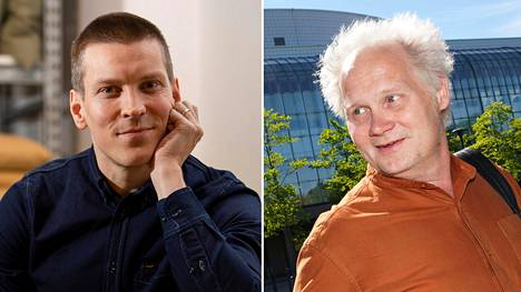 Antti Holma (vas.) teki oopperarakkaudesta podcastin. Jani Halme yrittää myös alentaa kynnystä tutustua taidelajiin.