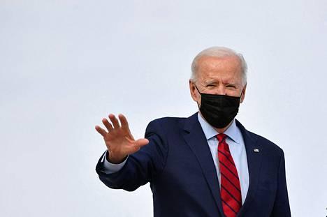 Yhdysvaltain presidentti Joe Biden kuvattuna 27. helmikuuta.