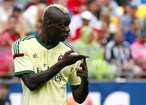 Mario Balotellilla on asiaa.