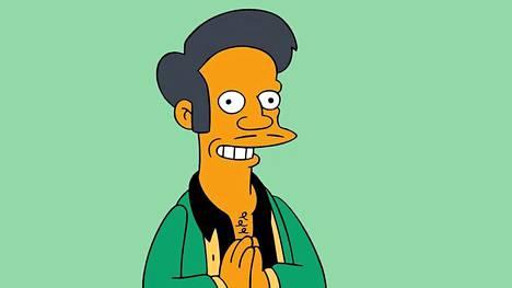 Simpsonien hahmo Apu Nahasapeemapetilon pitää sarjassa Kwik-E-Mart -ruokakauppaa.