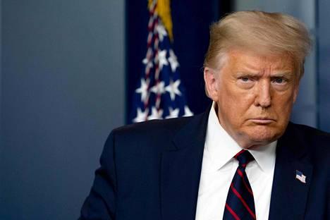Yhdysvaltain entinen presidentti Donald Trump.