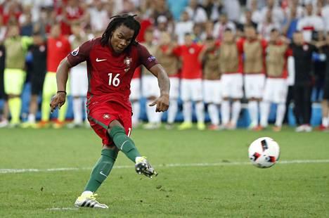 18-vuotiaasta Renato Sanchesista tuli EM-kisoissa Portugalin historian nuorin avauskokoonpanopelaaja arvokisoissa.