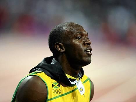 Usain Bolt Lontoon olympialaisissa vuonna 2012.