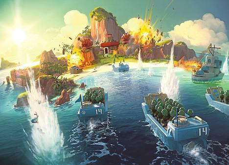 Supercell julkaisi uuden Boom Beach -pelinsä Kanadassa marraskuun alkupuolella.