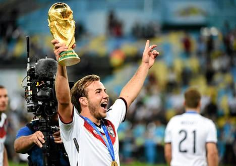 Mario Götze ratkaisi maailmanmestaruuden.