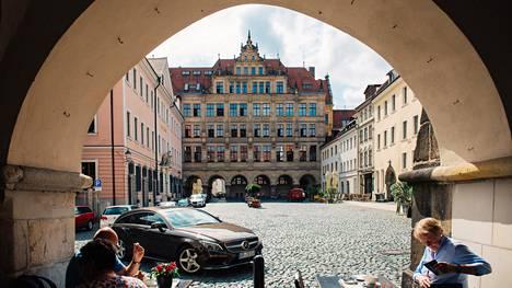 Saksan itäisimmässä kaupungissa Görlitzissä asuu nykyisin noin 55000 asukasta. Asunto löytyi heti