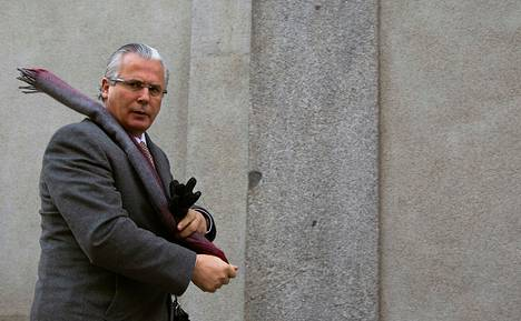Espanjan korkein oikeus määräsi helmikuussa tuomari Baltasar Garzónin 11 vuodeksi syrjään tehtävistään salakuuntelujupakan takia.