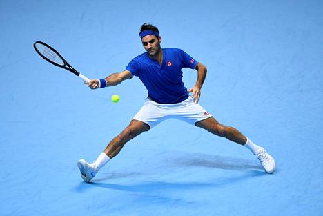 Roger Federer on pelannut Lontoon ATP-finaalien nopeimman ottelun.