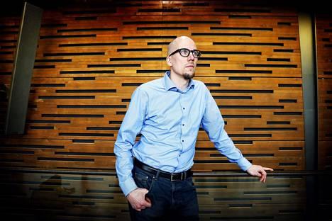 Antti Auvinen on Suomen säveltäjien yhdistyksen puheenjohtaja.