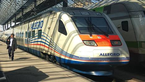 Allegro-junat ovat Alstomin valmistamia.