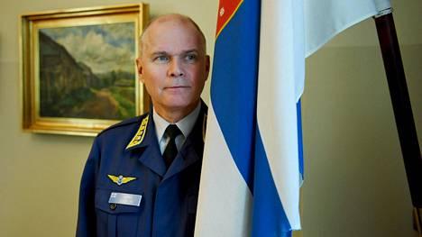 Jarmo Lindberg toimi Puolustusvoimain komentajana viime vuoden elokuuhun saakka.