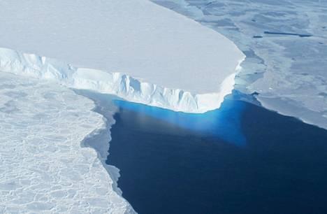 Thwaitesin jäätikkö Etelämantereella.