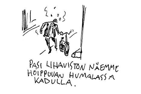 Leo Kuikan Tappavat kädet kertoo Pasi Lihavisto -nimisestä miehestä.
