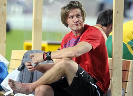 Andreas Thorkildsen haluaa laittaa paikat kuntoon ennen vuoden 2016 olympialaisia.