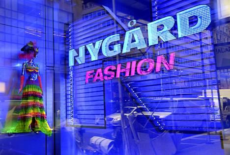 Nygård Fashionin liike New Yorkin Times Squarella vuonna 2011.