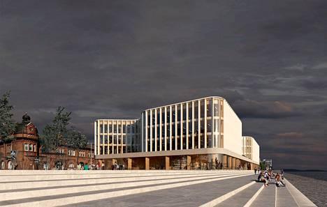 Stora Enson uudesta pääkonttorista järjestetyn arkkitehtuurikilpailun voitti Anttinen Oiva Arkkitehtien ehdotus nimeltä Spring. Pääkonttorista halutaan hiilineutraali.