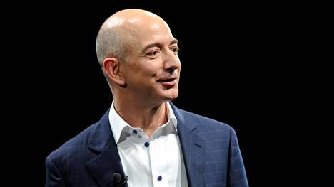 Jeff Bezos on Amazon-verkkokaupan perustaja ja toimitusjohtaja sekä suurin omistaja.