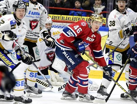 IFK:n Teemu Ramstedt oli paha pideltävä Kärppien puolustukselle maaliskuun alun liigakamppailussa.