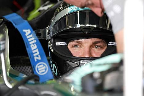 Nico Rosberg uhkuu taistelutahtoa ennen viikonloppuna ajettavaa Brasilian GP-kisaa.