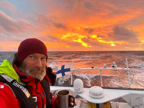 Kap Hornin ohittaminen oli kauan odotettu elämys Ari Huuselalle.
