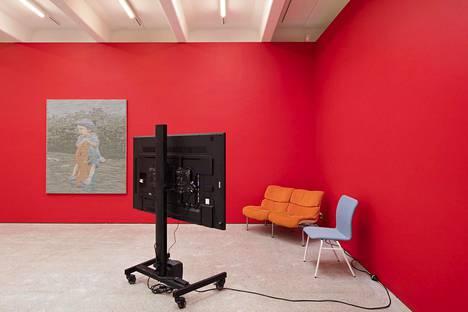 Michel Auder & Outi Martikainen, näyttelynäkymä.