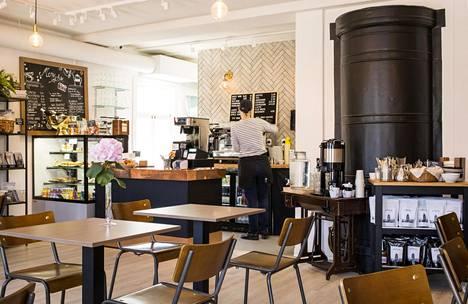 Venäläisessä kauppiaskorttelissa sijaitseva Cafe Silo avattiin alkuvuodesta.