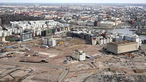 Jätkäsaaren asuinrakentaminen lisää tarvetta koulupaikoille.