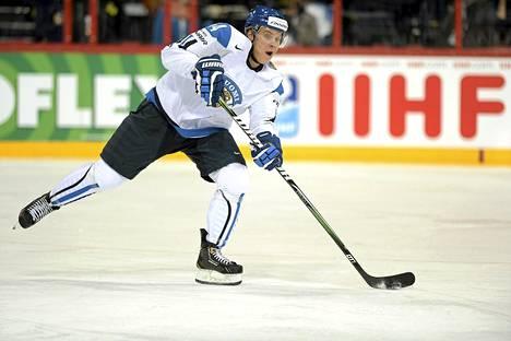 Mikael Granlund on mukana Leijonien olympiamiehistössä kunhan pysyy terveenä.