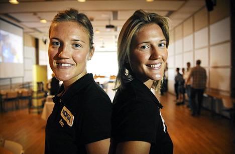 Erika ja Emilia Nyström olivat lähellä pääsarjaa.