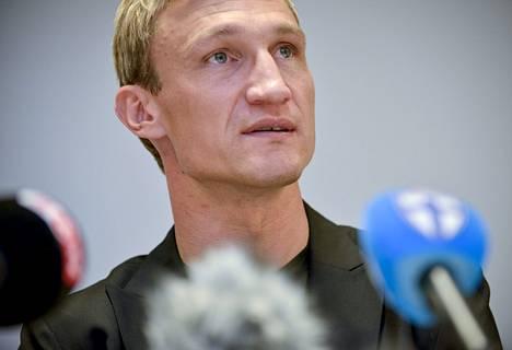 Sami Hyypiä kävi Suomessa kertomassa suunnitelmistaan.