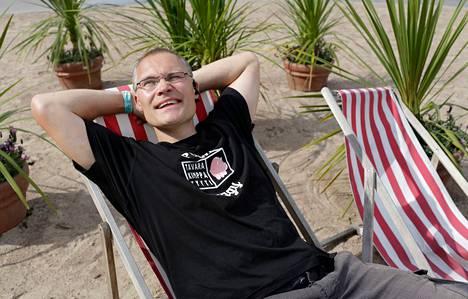Vuonna 2012 työttömäksi joutunut Harri Paloheimo pääsi Nokian Bridge-ohjelman avulla jaloilleen.