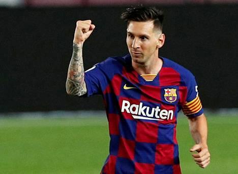Messi ja Barcelona tuskin pääsevät juhlimaan mestaruutta tänä vuonna.