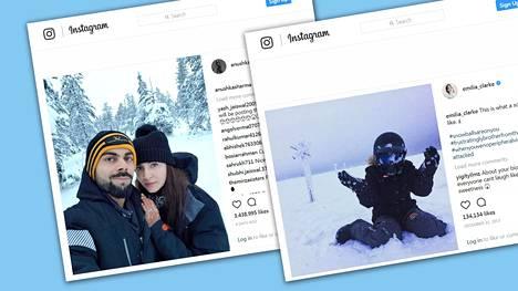 Julkimoiden sosiaalisen median päivitykset Suomesta ovat kullanarvoista mainosta täkäläiselle matkailuelinkeinolle.