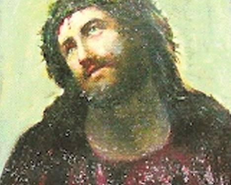 Taiteilijan näkemys Jeesuksesta.