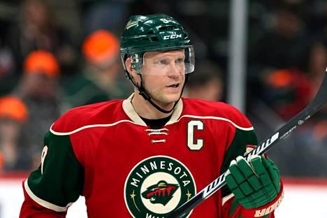Mikko Koivu pelasi koko tähänastisen NHL-uransa Minnesota Wildissa.