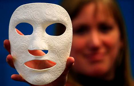 3D-tulostin ja lääketiede: arvet peittävä kasvomaski, joka on saanut nimen Burn Mask.