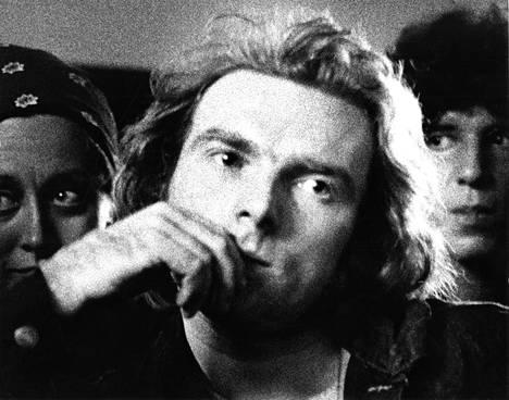 Van Morrison Amsterdamissa heinäkuussa 1973.
