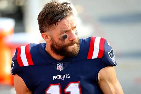 New England Patriotsin laitahyökkääjätähti Julian Edelman lopetti uransa.