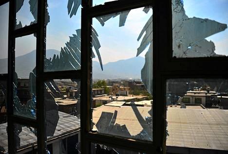 Talebanit hyökkäsivät useisiin kohteisiin Kabulissa viime sunnuntaina.