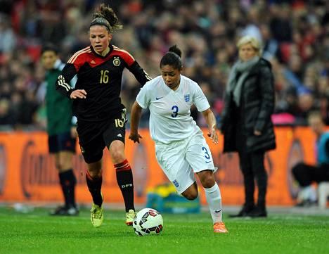Kun Englanti ja Saksa kohtasivat Wembleyllä 23. marraskuuta 2014, paikalla oli noin 45000 katsojaa.