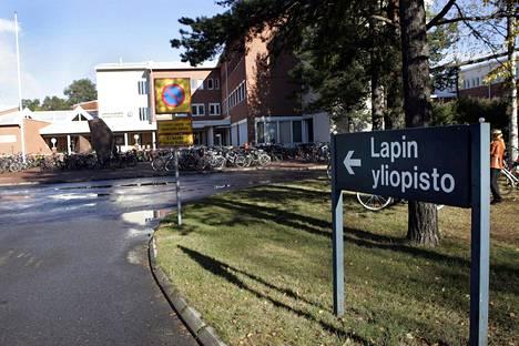 Lapin yliopiston kampusta Rovaniemellä.