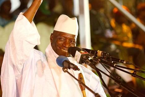 Gambian entinen presidentti nYahya Jammeh