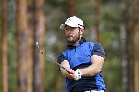 Kalle Samooja pelaa ensi kaudella golfin Euroopan pääkiertueella.