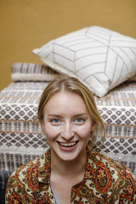 Larissa Immonen, 30, toimii perheyrityksensä toimitusjohtajana.