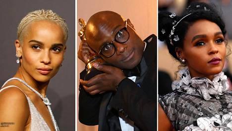 Zoë Kravitz (vas.), Barry Jenkins ja Janelle Monáe ovat haluttujen Oscar-akatemian jäsenkutsujen saajien joukossa.