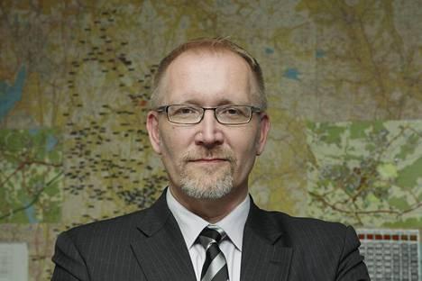 Jussi Lehdosta tuli Voimaosakeyhtiö SF:n toimitusjohtaja vuonna 2015.
